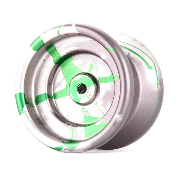 One Drop Cafe Racer – Gray / Green Splash